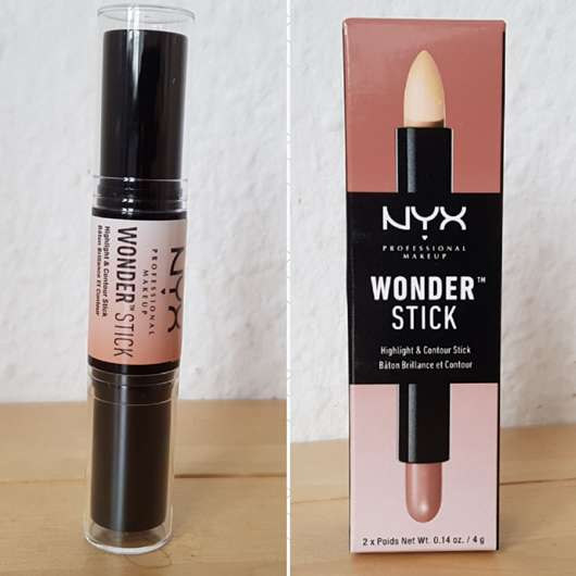 <strong>NYX</strong> Wonder Stick Highlight & Contour Stick - Farbe: WS01 Light/Medium