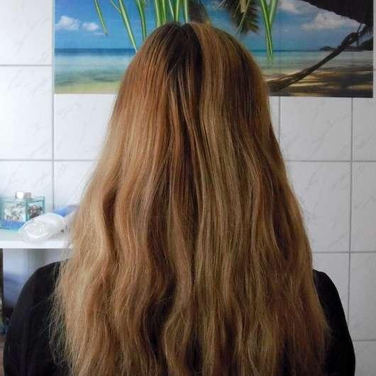 SANTE Glanz-Haarspülung Bio-Birkenblatt & Klettenwurzel - Haare vor der Anwendung