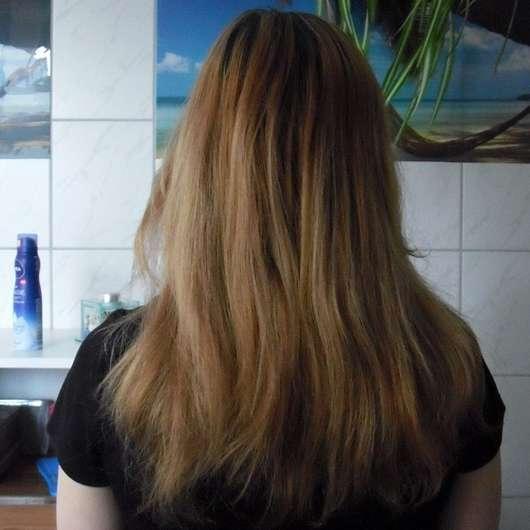 SANTE Glanz-Haarspülung Bio-Birkenblatt & Klettenwurzel - Haare nach der Anwendung