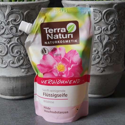 <strong>Terra Naturi Naturkosmetik</strong> Flüssigseife Wildrose (Nachfüllbeutel)