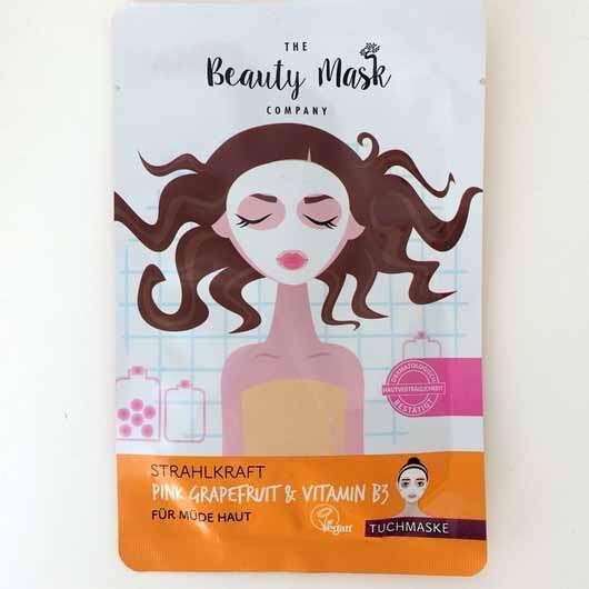 The Beauty Mask Company Strahlkraft Tuchmaske