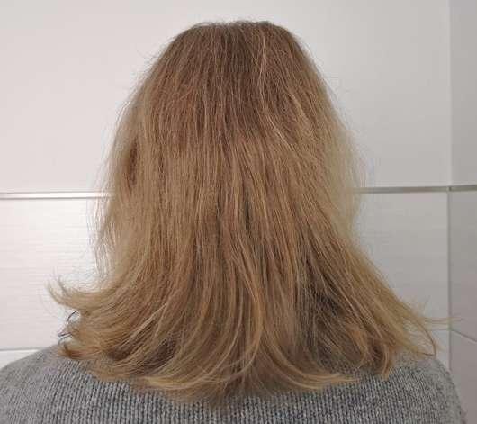 Haare zu Testbeginn