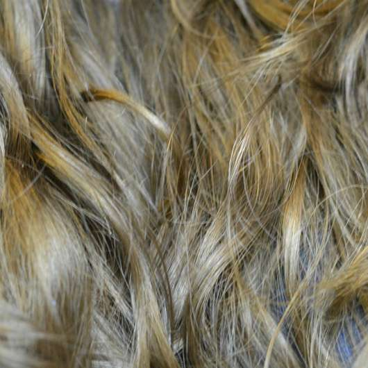 Haare nach Testende - alverde Glanz Haarkur Bio-Rohrzucker