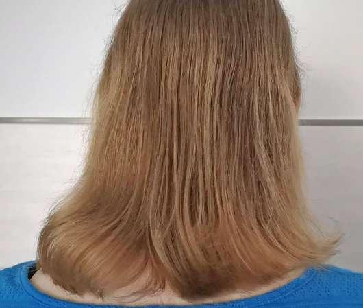 Haare nach Testende