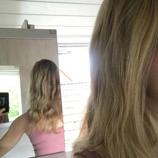 Haare nach 4-wöchigem Test