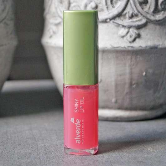 "alverde Shiny Lip Oil ""Raspberry"""