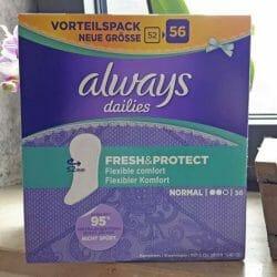 Produktbild zu always Fresh & Protect Slipeinlagen Normal