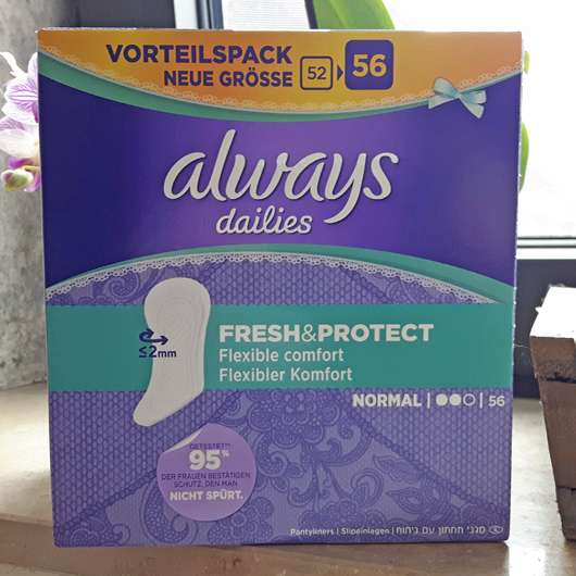 always Fresh & Protect Slipeinlagen Normal