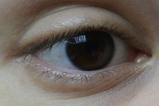 Wimpern ungeschminkt