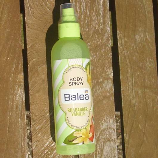 Balea Body Spray Rhabarber Vanille (LE)
