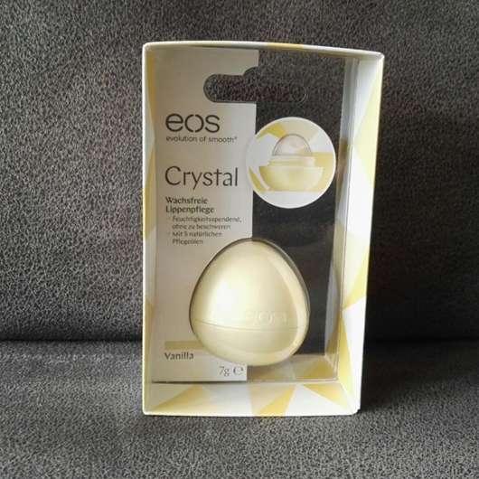 eos Crystal Wachsfreie Lippenpflege Vanilla