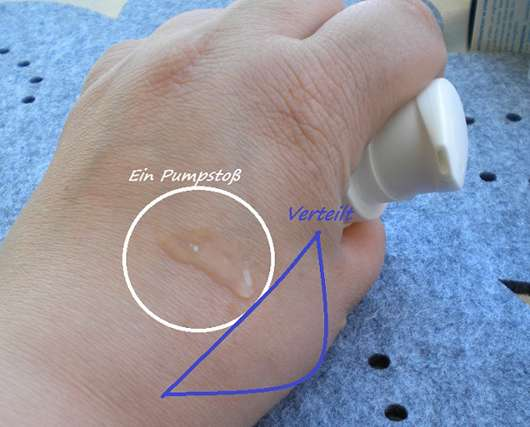 Konsistenz - everdry Antitranspirant Body im Spender