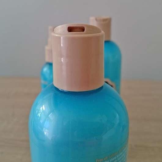 geöffneter Deckel des HASK Hawaiian Sea Salt Beach Texture Shampoos
