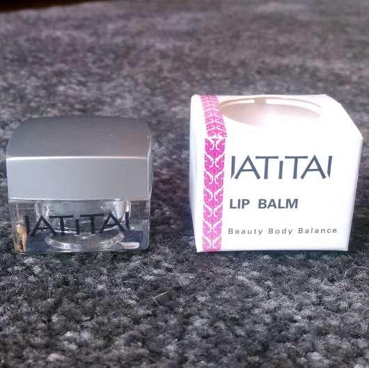 IATITAI Lip Balm Kaffir Lime - Verpackung und Tiegel