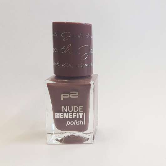 p2 nude benefit polish, Farbe: 060 dinner with Jack