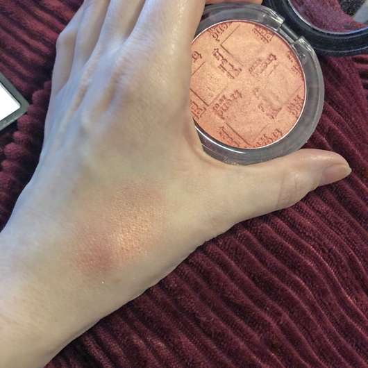 Swatch - trend IT UP Powder Blush, Farbe: 025