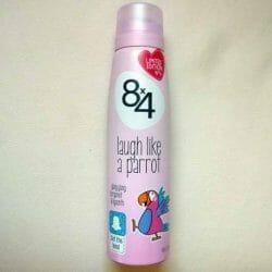 Produktbild zu 8×4 laugh like a parrot Deodorant Spray (LE)