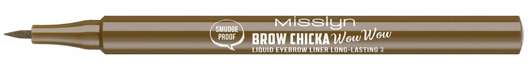 Misslyn BROW CHICKA WOW WOW liquid eyebrow pencil