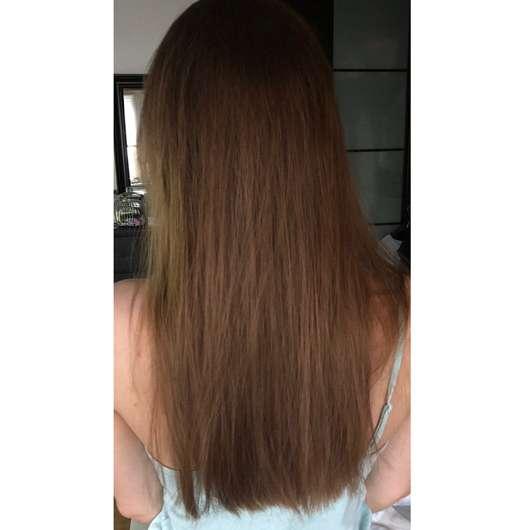 alverde Glanz Haarkur Bio-Rohrzucker - Haare nach der Anwendung