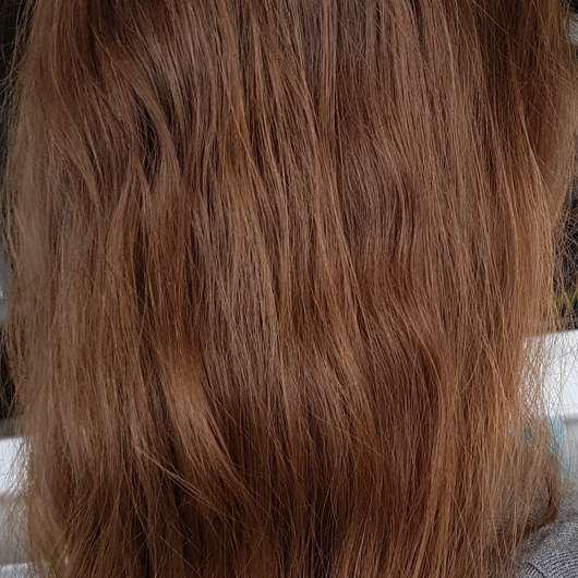 Haare nach 4-wöchigem Test - alverde Glanz Haarkur Bio-Rohrzucker