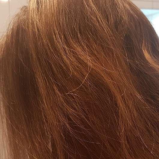 alverde Glanz Haarkur Bio-Rohrzucker - Haare nach 4 Wochen Testphase