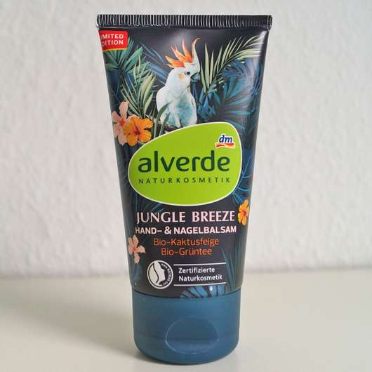 alverde Jungle Breeze Hand- & Nagelbalsam (LE)