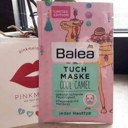 Produktbild zu Balea Tuchmaske Cool Camel (LE)