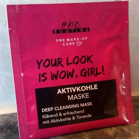 #b.e. ROUTINE Aktivkohle Maske – Deep Cleansing Mask