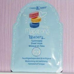 Produktbild zu CHIARA AMBRA Happy Macarons Blueberry Tuch-Maske