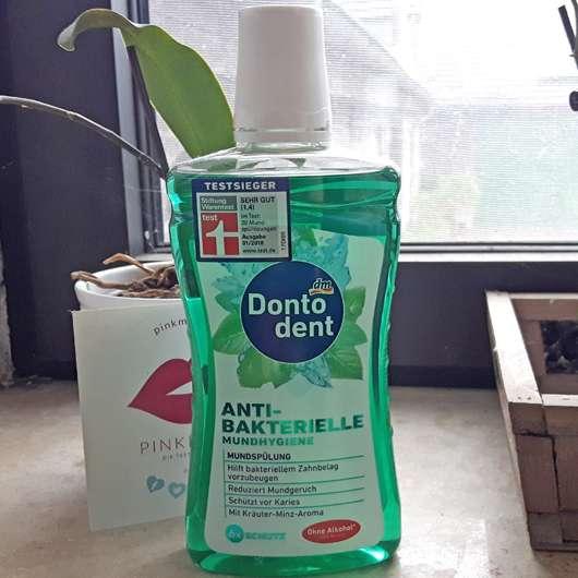 DontoDent Antibakterielle Mundhygiene Mundspülung