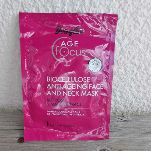 <strong>Douglas Age Focus</strong> Biocellulose Anti-Aging Face And Neck Mask