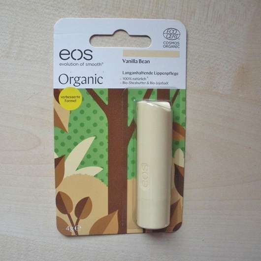 eos Organic Stick Lip Balm, Sorte: Vanilla Bean