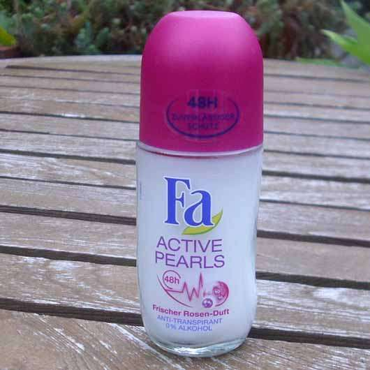 <strong>Fa</strong> Active Pearls Frischer Rosen-Duft Roll-On