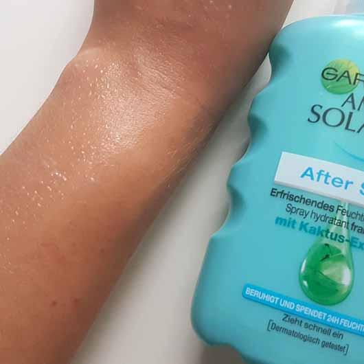 Garnier Ambre Solair After Sun Erfrischendes Feuchtigkeits-Spray Swatch