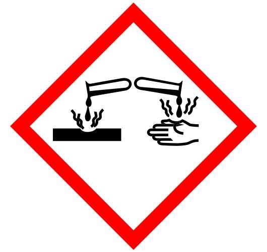 "Abbildung 2: Gefahrensymbol ""ätzend"""