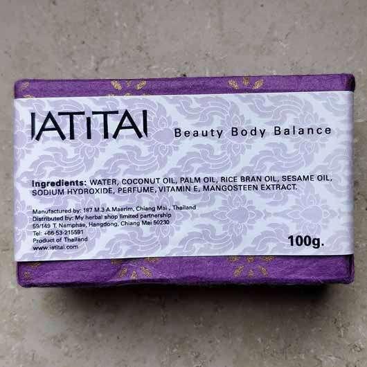 <strong>IATITAI</strong> Mangosteen Body Soap