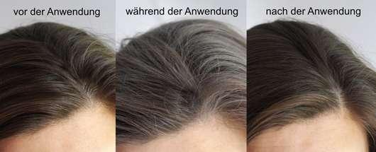 LANGHAARMÄDCHEN Pure Frische Trockenshampoo - Haare vor, während und nach der Anwendung