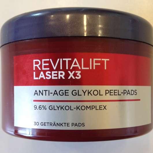 <strong>L'ORÉAL PARiS Revitalift Laser X3</strong> Anti-Age Glykol Peel-Pads