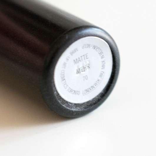 M·A·C Matte Lipstick, Farbe: Mehr - Farbaufkleber