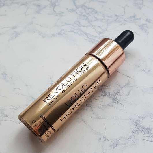 <strong>Makeup Revolution</strong> Liquid Highlighter - Farbe: Champagne