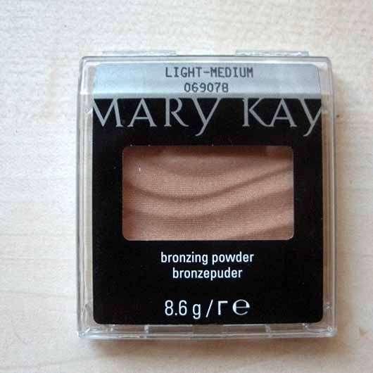 Mary Kay Bronzing Powder - Verpackung