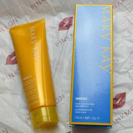 Mary Kay Sonnenpflege SPF 30 (LE) - Verpackung und Tube