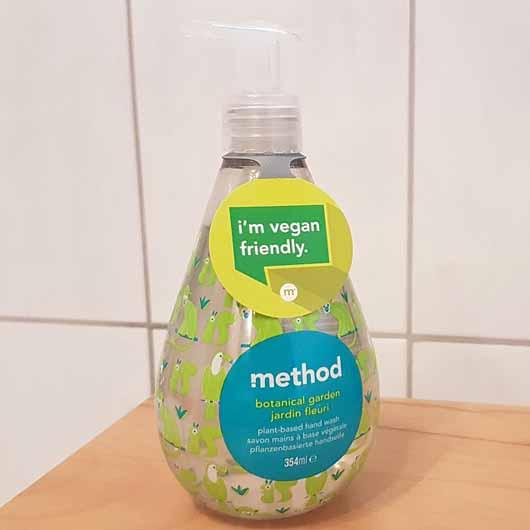 method botanical garden pflanzenbasierte Handseife - Flasche
