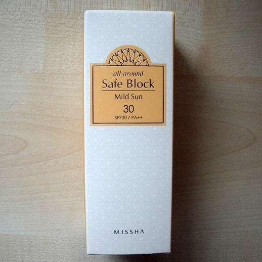 MISSHA All Around Safe Block Mild Sun SPF30/PA++ - Verpackung