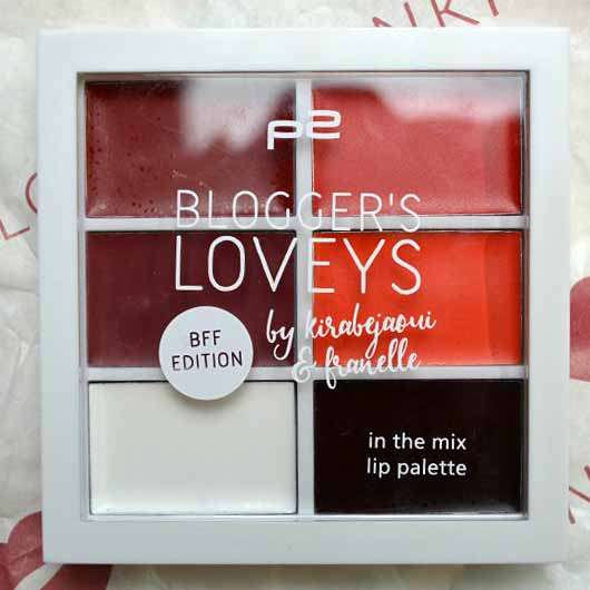 <strong>p2 cosmetics</strong> blogger's loveys BFF edition in the mix lip palette - Farbe: 020 Vol. 2 (LE)