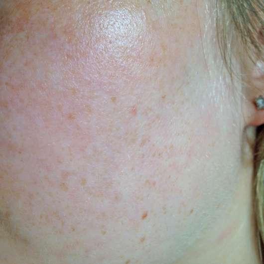 Haut zu Testbeginn - Pixi Rose Cream Cleansers