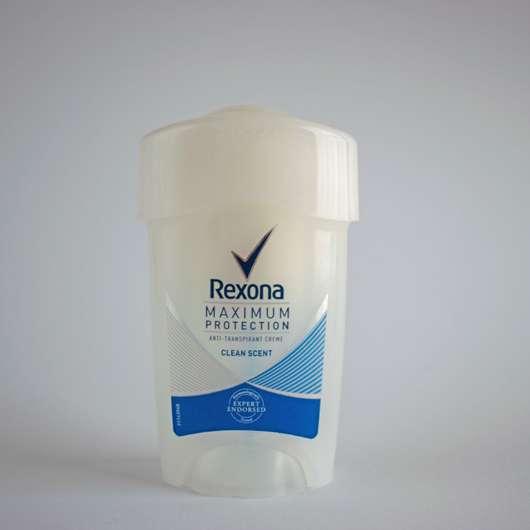 "<strong>Rexona</strong> Maximum Protection Anti-Transpirant Creme ""Clean Scent"""