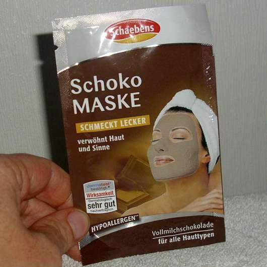 <strong>Schaebens</strong> Schoko Maske Vollmilchschokolade