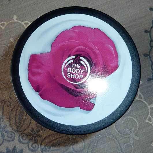 The Body Shop British Rose Body Yogurt - Design