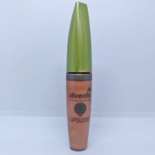alverde Hydro Lipgloss, Farbe: 10 Caramel Nude